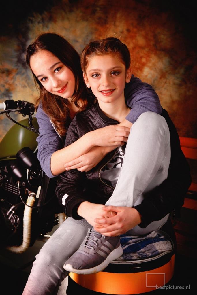 Fotoshoot- portret - Schoolfotografie